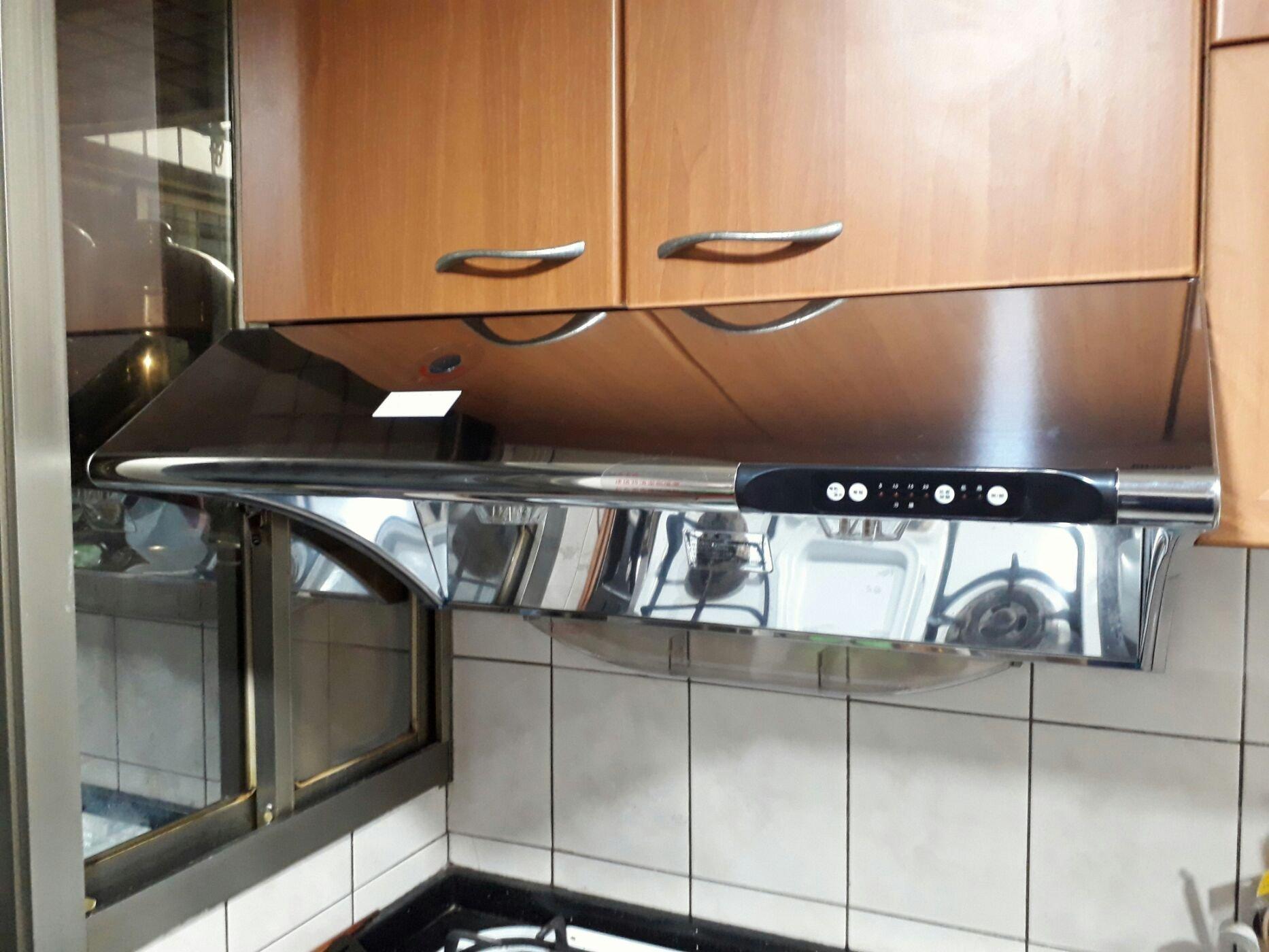 高雄台南《J工坊》林內RH-7033S深罩式排油煙機 水洗電熱除油