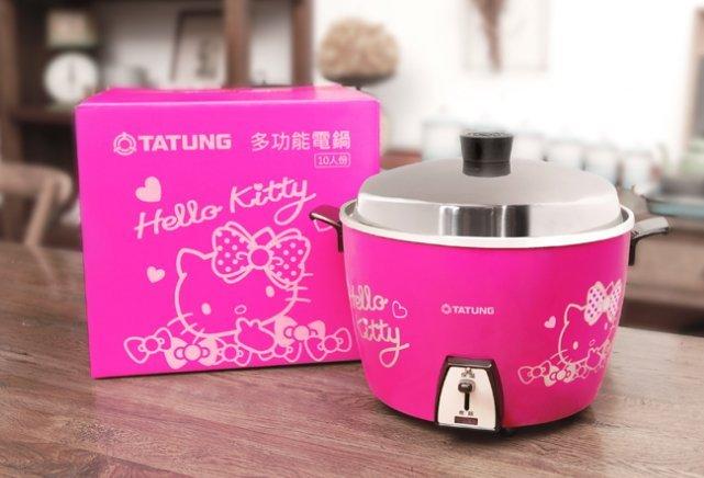 ㊣好便宜✿大同電鍋 聯名 Hello Kitty 桃紅色TAC-10A(SKTB)不含小鍋 (SO639Q9)