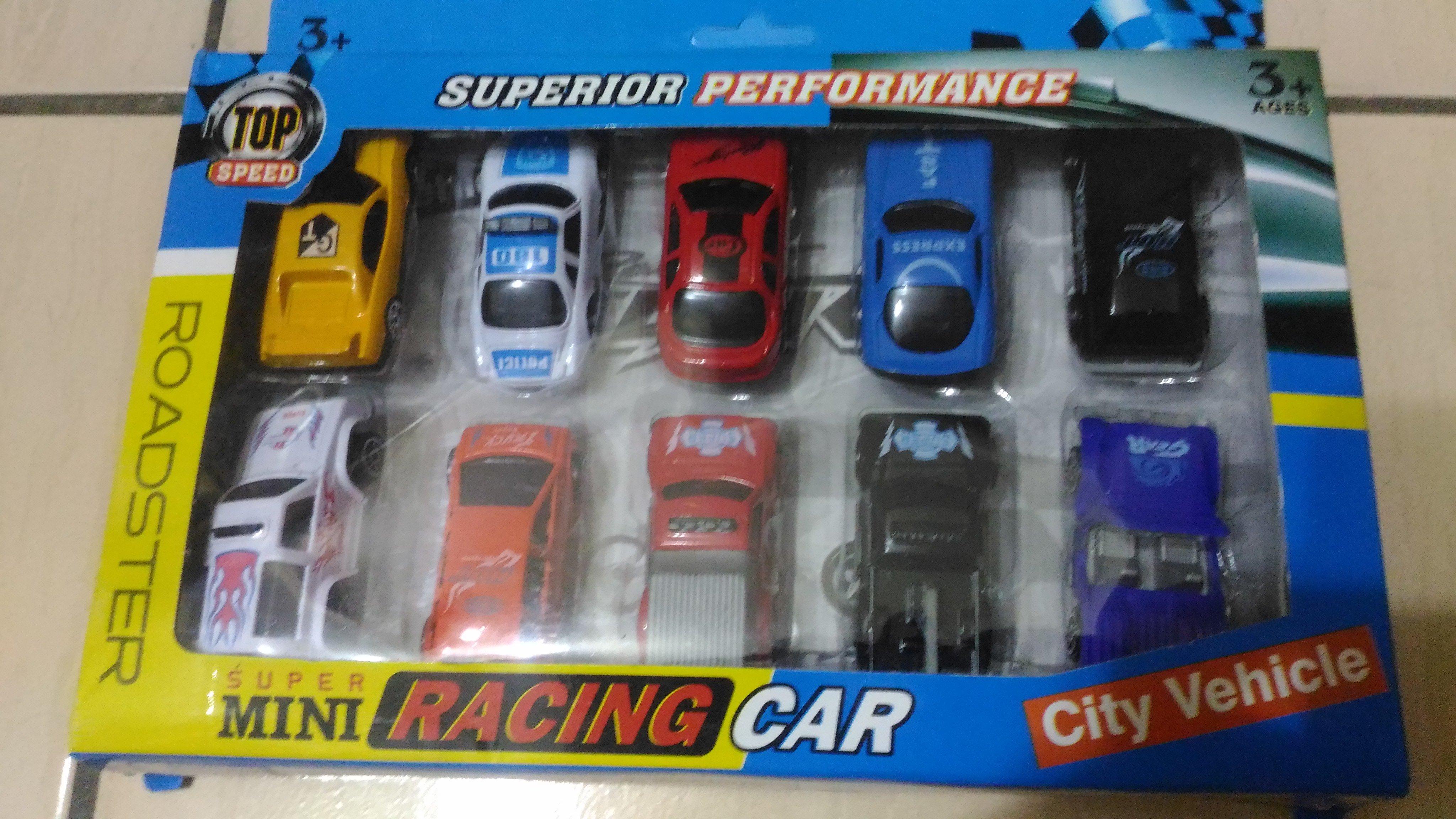 哈哈玩具屋~SUPER MINI RACING CAR 迴力小汽車