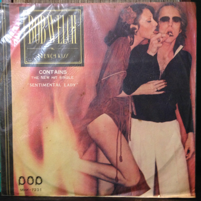 W黑膠唱片  BOB WELCH 片況不錯  FRENCH KISS  曲目如照片