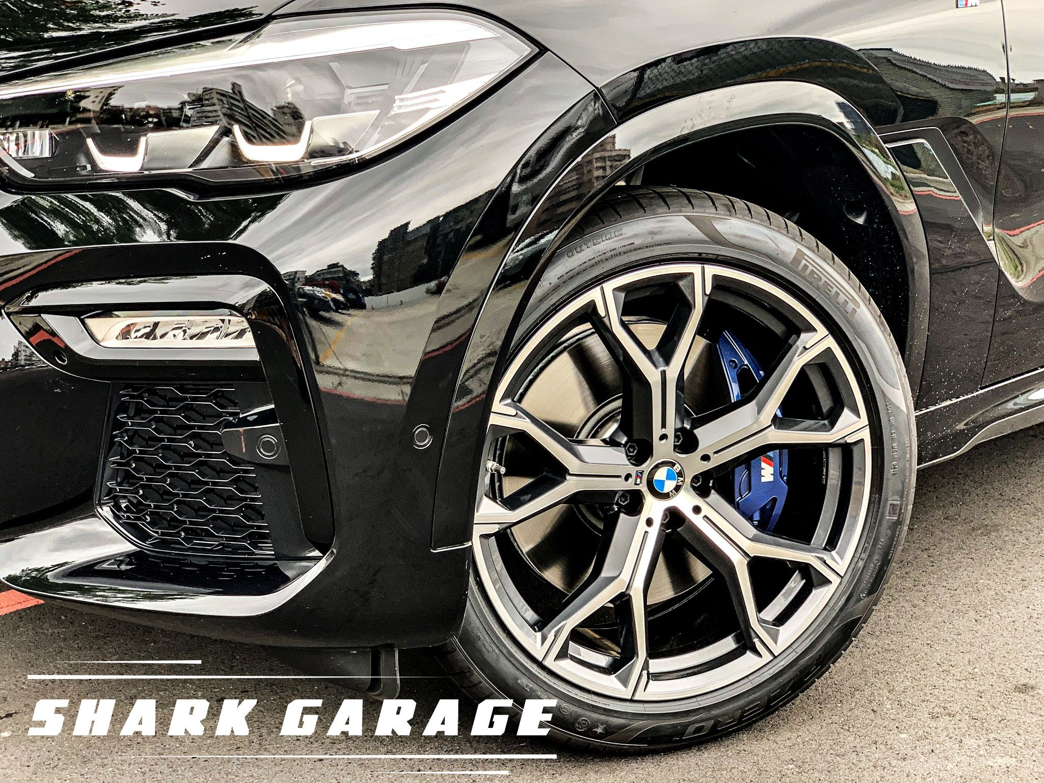 #現貨#✽顯閣商行✽BMW 德國原廠 M Performance G06 X6 741M 21吋 輕量化鋁圈配胎