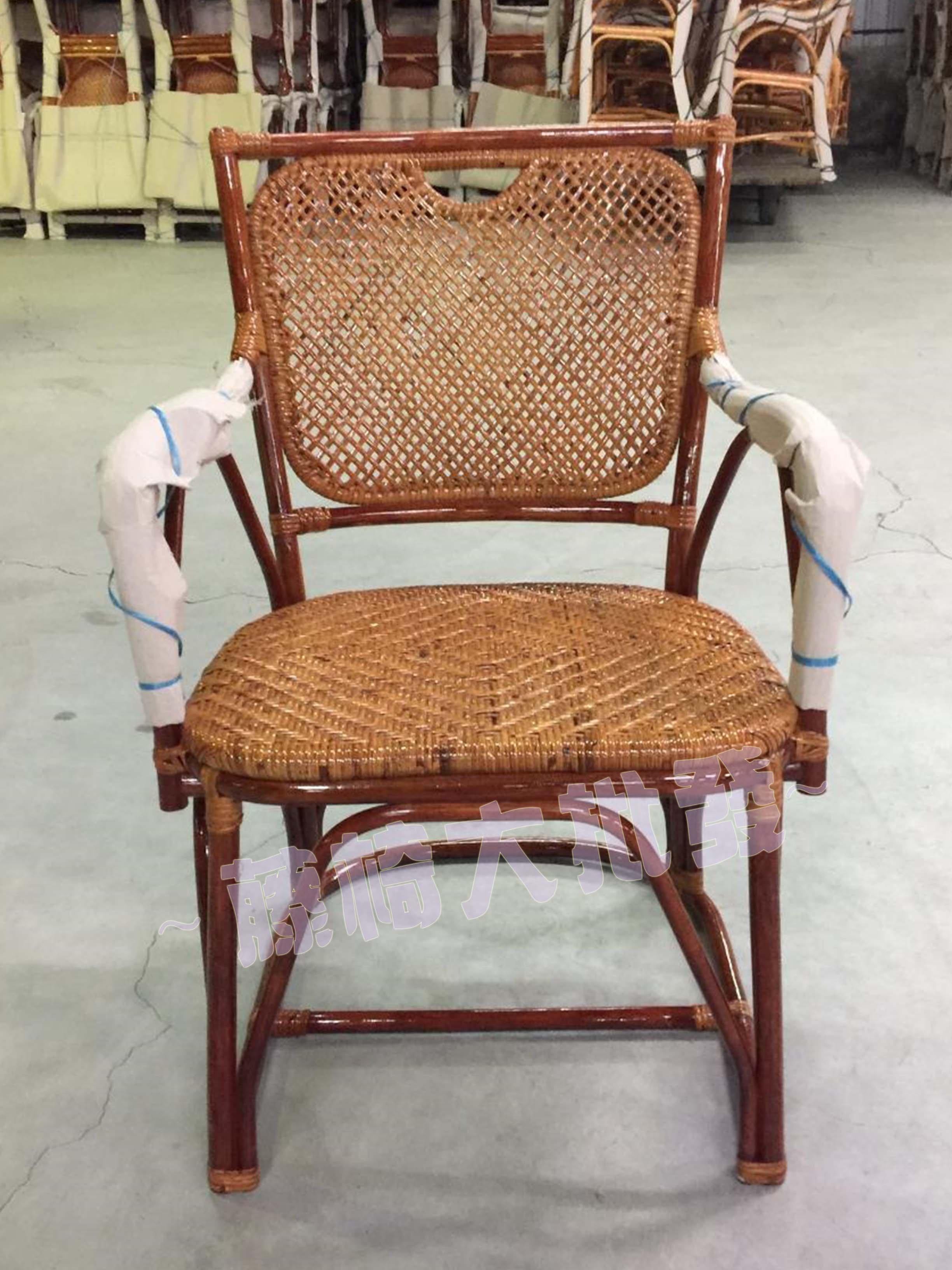 【藤椅批發零售】籐椅-日式和室椅-泡茶椅-客廳椅-餐廳椅-房間椅-有扶手-工廠直營
