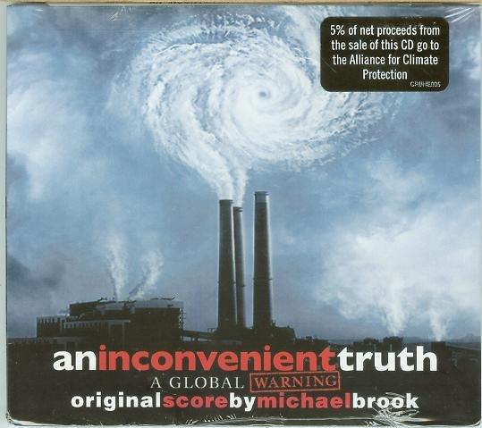 不願面對的真相(An Inconvenient Truth)- Michael Brook,全新美版