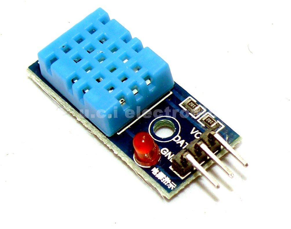 【UCI電子】(10-14) YS-31 單匯流排數位溫濕度感測器 DHT11模組 電子積木 送杜邦線