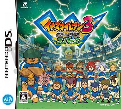 【二手遊戲】任天堂 Nintendo NDS 閃電十一人3 邁向世界的挑戰 閃光版 日文版【台中恐龍電玩】