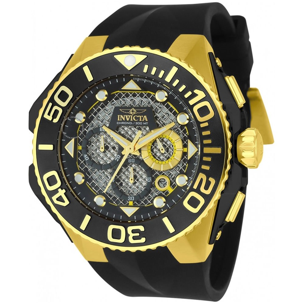 Invicta  Coalition Forces 23961  Silicone Chronograph  Watch