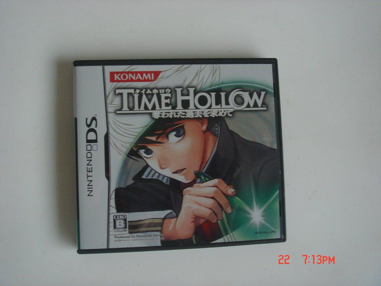 NDS 時間空洞 追回被奪走的過去 Time Hollow