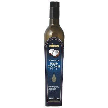 《小瓢蟲生機坊》COCOS - 初榨MCT椰子油(藍標) 500ml/罐 MCT油 中鏈脂肪酸 辛酸 癸酸 c8 c10
