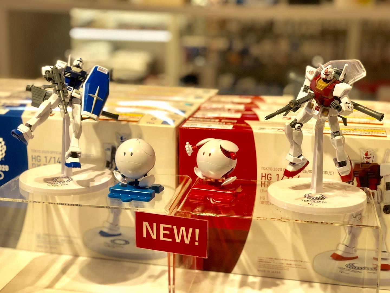 日本 2020東京奧運/殘障奧運 限定聯名款 鋼彈 & HALO 公仔 模型 新品無開封 棒球 限量 帕奧