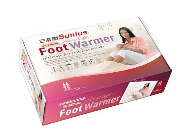 【上發】Sunlus 三樂事 雙人足溫電熱毯 SP2407WH 熱敷墊 熱毛毯 電毯 電毛毯 居家 美容業 長輩