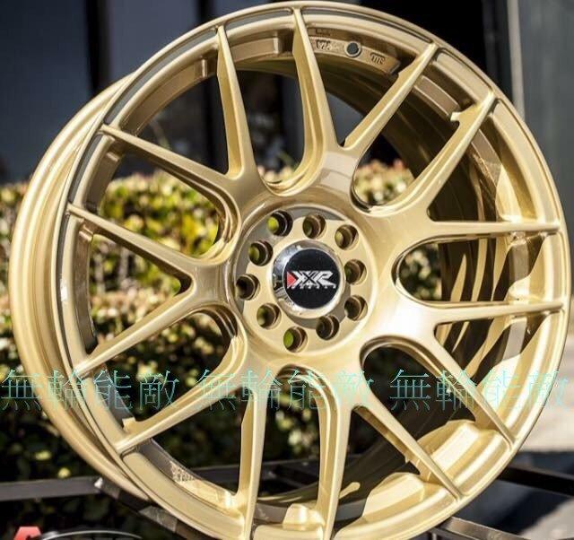 全新鋁圈 正 XXR530 17吋 4孔100 4孔114.3 5孔114.3 5孔100 5孔108 金色 另有18吋