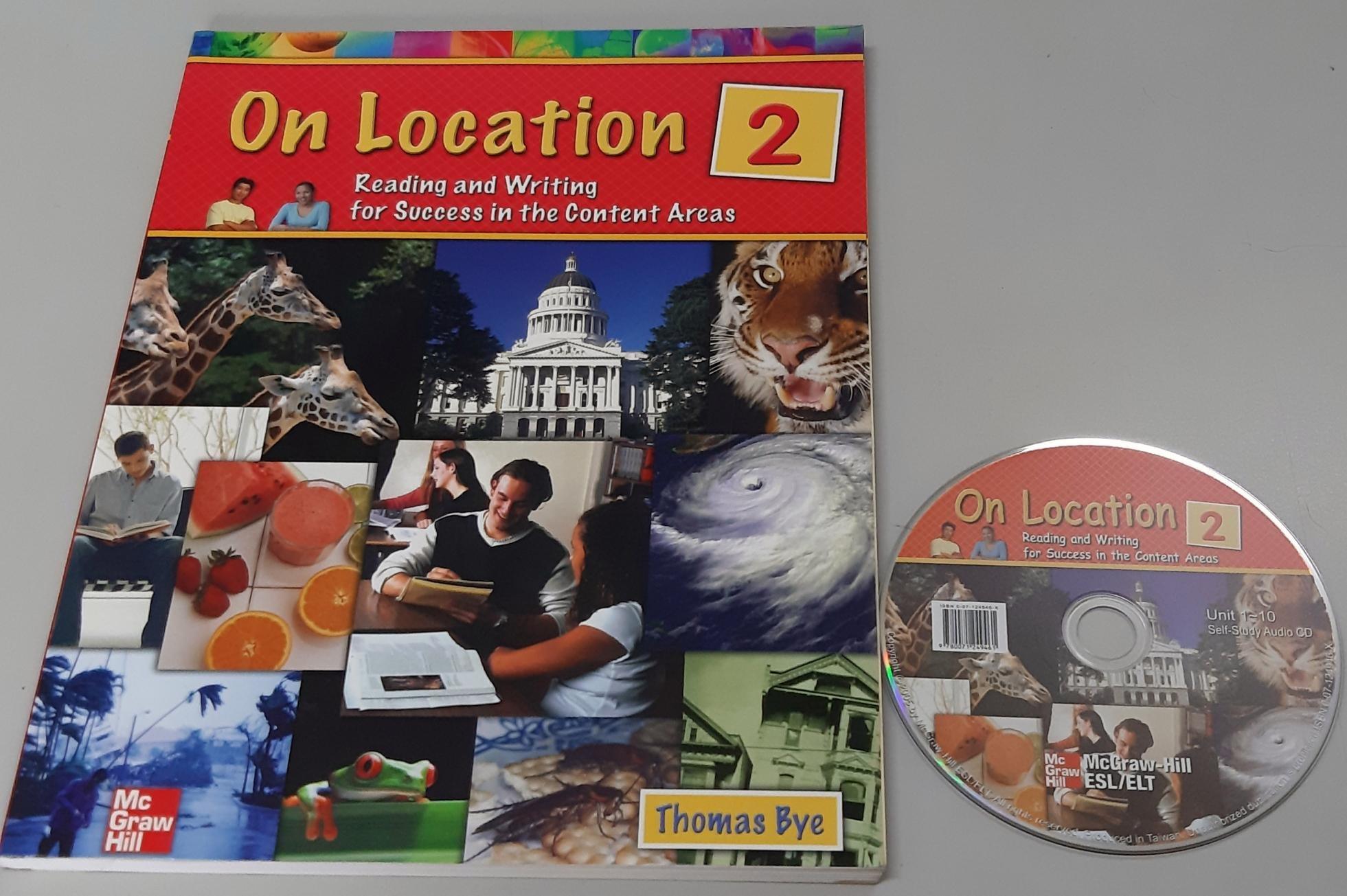 英語閱讀 寫作On Location 2:Reading & Writing for Success in Content Areas. Academic附CD