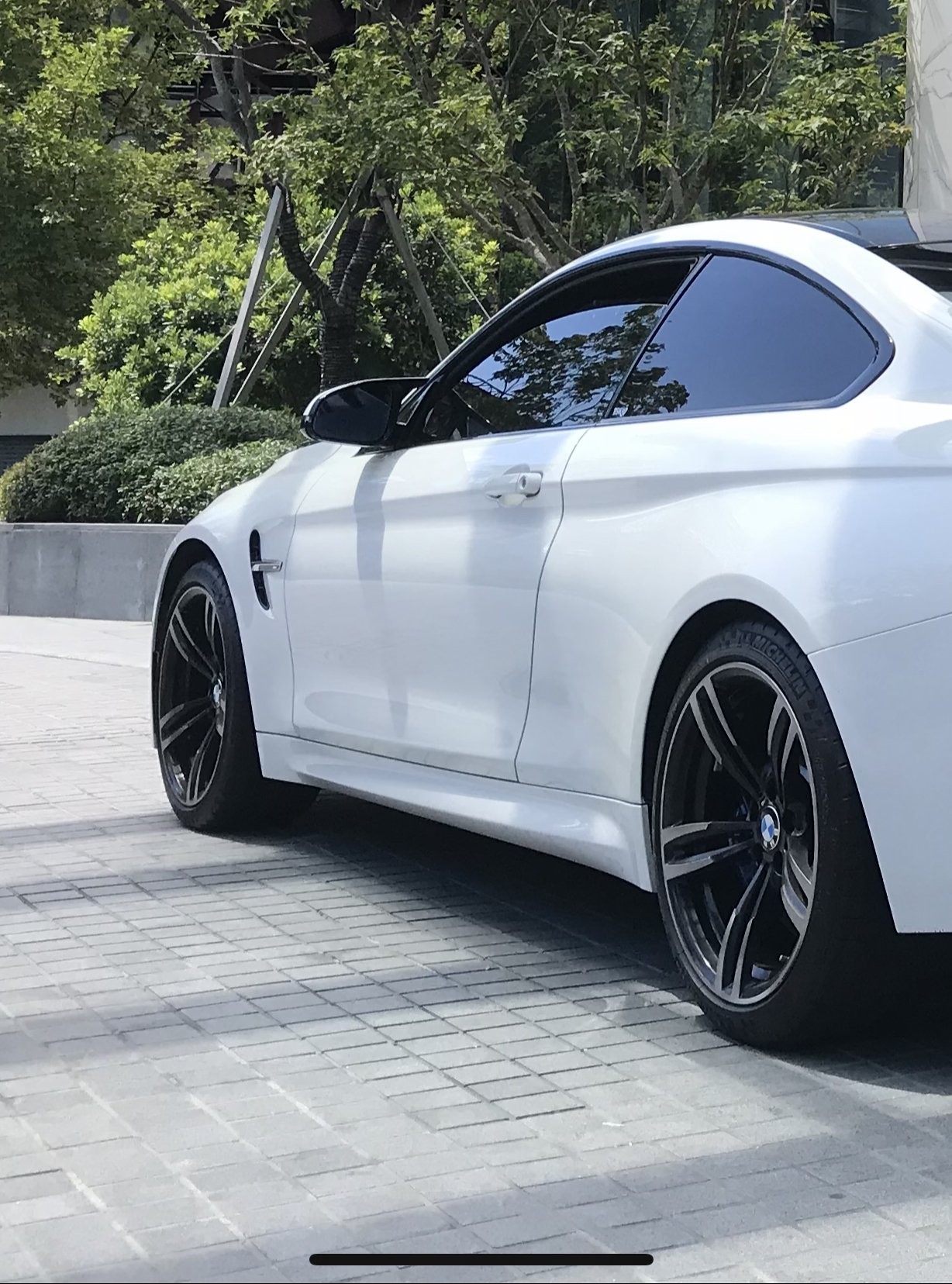 BMW M2 M3 M4 正原廠437M 19吋鍛造前後配鋁圈含胎 米其林 PS4S