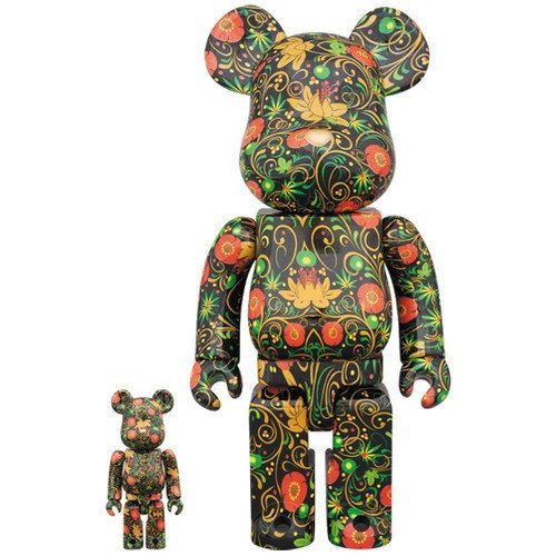 金錢貓雜貨 全新 Bearbrick 400% + 100% SSUR RUSS Spelled Backwards