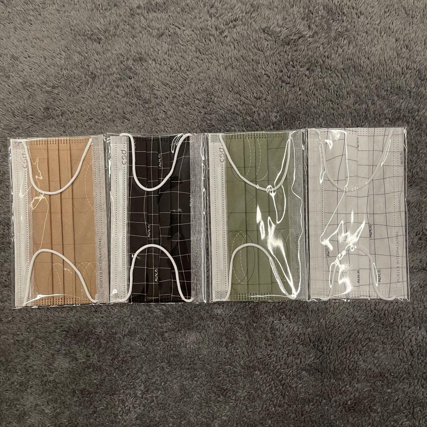 現貨 中衛 CSD x Porter 聯名款 4片套組 ADV 口罩 袋裝 康是美 微風 兔子