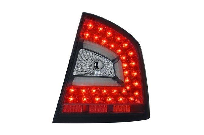 【炬霸科技】SKODA OCTAVIA A5 轎車版 (04~08/09~13) LED 導光 尾燈 後燈 改裝