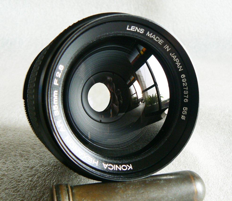 【悠悠山河 】A7R3,A73,E口直上--同新品 Leica味 KONICA HEXANON AR 35mm F2.8