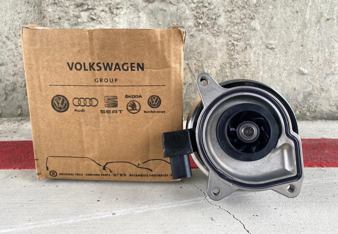VW AUDI SKODA FABIA YETI GOLF TIGUAN BEETLE JETTA Q3 Q2 A1 A3 1.4TSI雙增壓引擎 原廠水幫浦