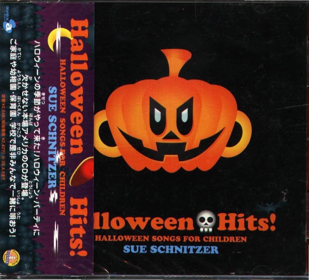 K - Halloween Hits Songs For Children SUE SCHNITZER 日版 - NEW