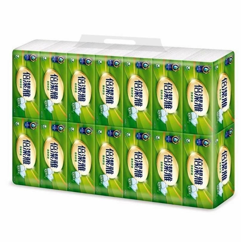 倍潔雅 抽取式衛生紙 150抽56包 100抽80包 (代購)