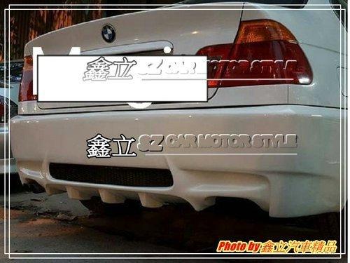 ※ 鑫立汽車精品 ※ BMW E46 仿 E92 M3 SPORT 後大包 後保桿