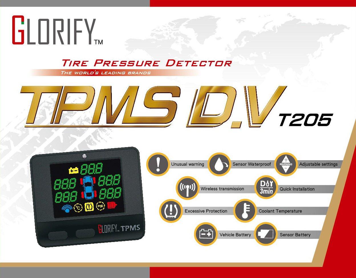 小青蛙數位 Glorify TPMS D.V T205 胎壓偵測器 胎壓檢測 胎壓