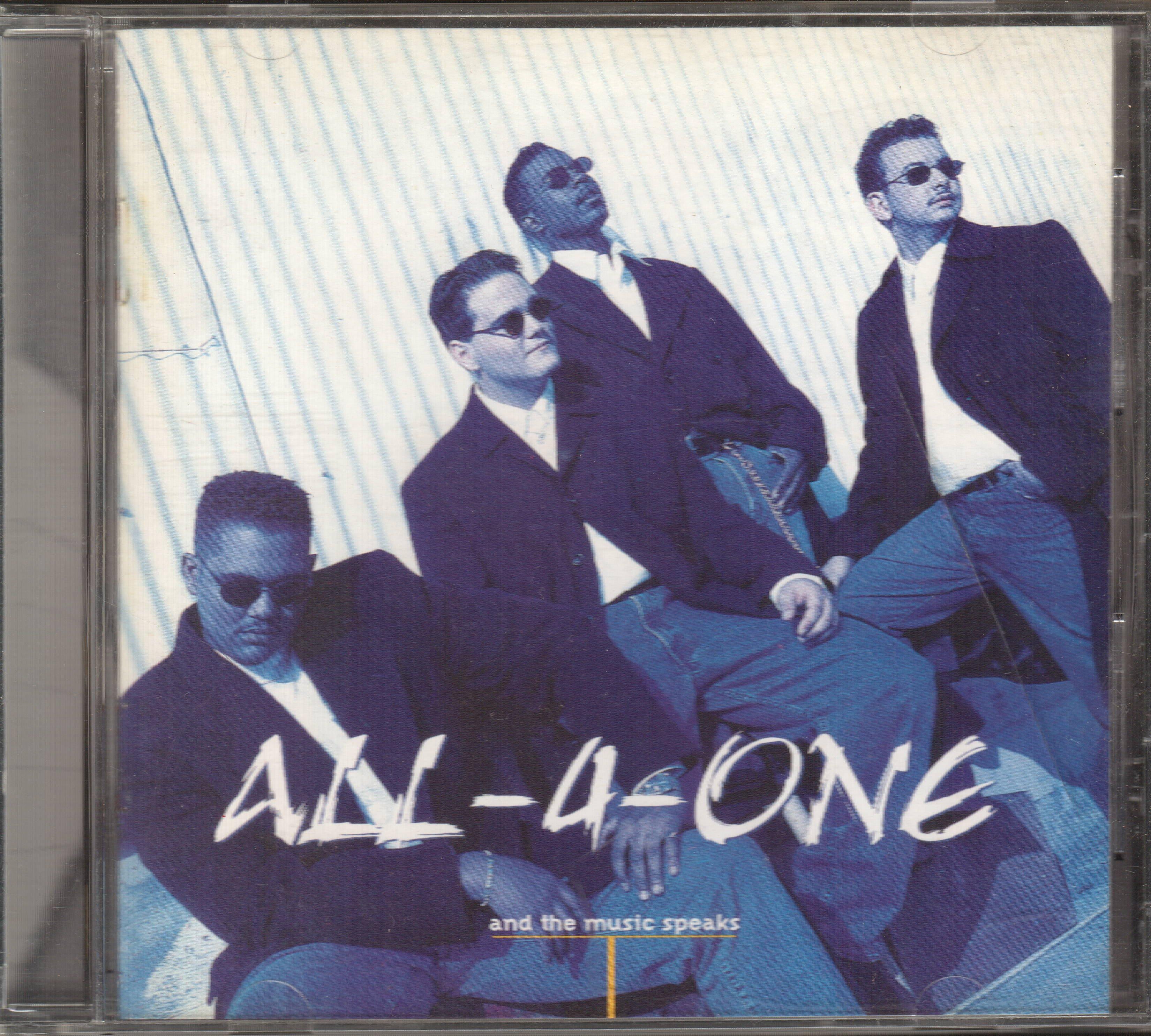 合而為一合唱團 ALL 4 ONE - AND THE MUSIC SPEAKS CD