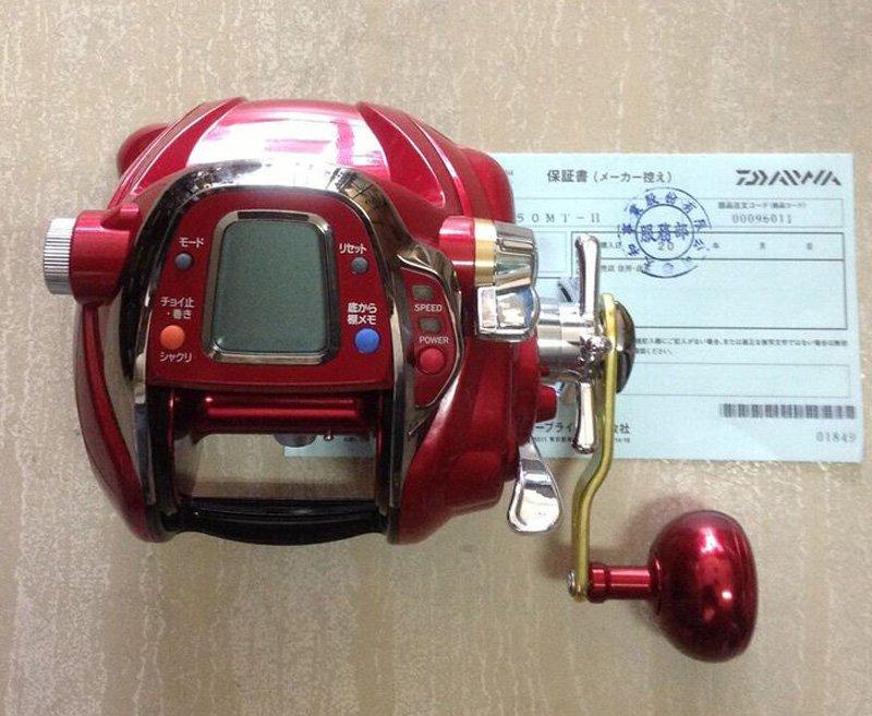 大象(原廠授權維修站)*Daiwa 頂級SEABORG 750MT-H 台灣專用電動 紅怪速動版(缺貨中) *