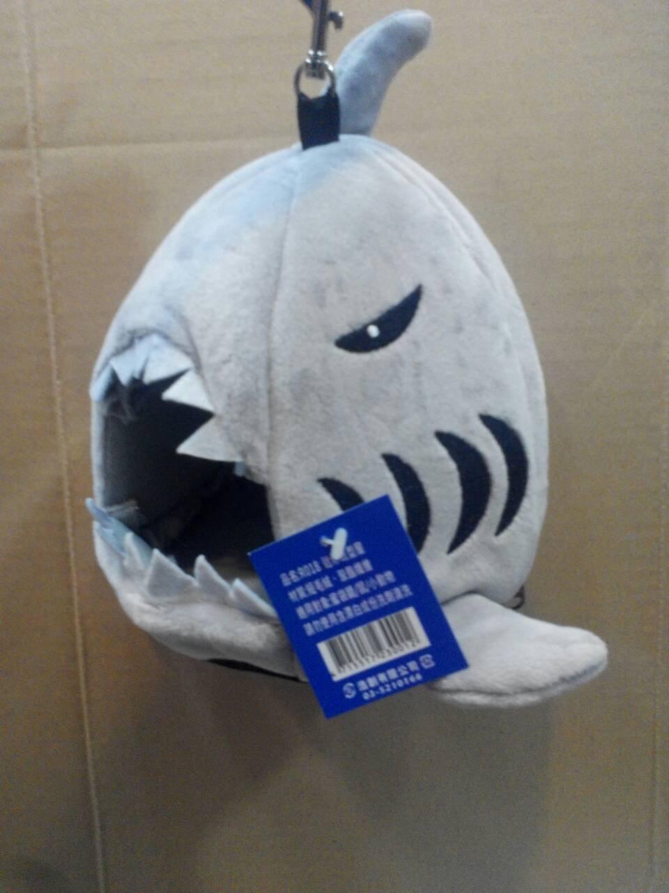 Brandish 蜜袋鼯保暖吊床 小動物棉窩 鯊魚睡窩 寵物鼠睡床 籠掛袋 R018 暖暖絨布窩 400元