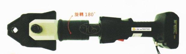 【川大泵浦】OPT 18V 迷你型充電式不鏽鋼水管壓接機 MNWSB-1 雙電池