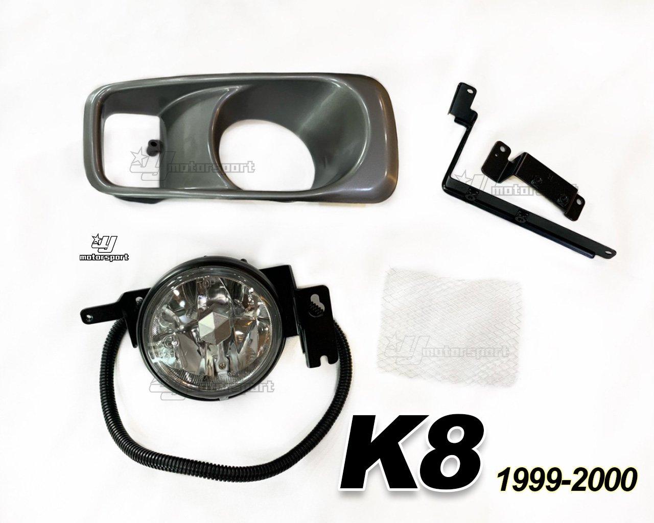 》傑暘國際車身部品《 全新 HONDA K8 99 00 年 改款後 晶鑽 霧燈 DEPO製 一邊900元