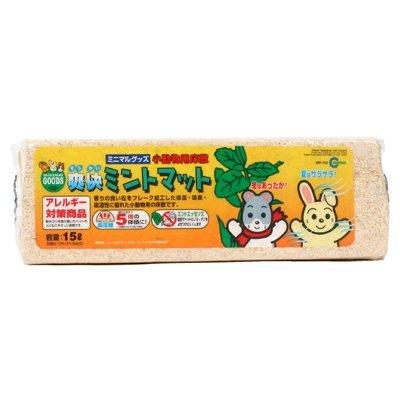 MARUKAN 薄荷防蟲壓縮松木屑小動物木屑 寵物鼠地毯 松樹砂 MR-752(15L)每封(共6條)480元