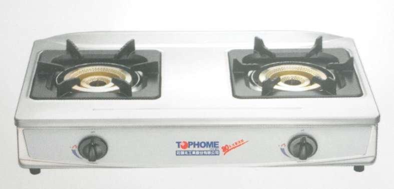 【阿貴不貴屋】 TOPHOME 莊頭北 AS-6629 TSV 雙口內焰式安全瓦斯爐 ♫雙排內燄瓦斯爐