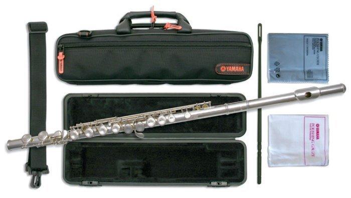 【現代樂器】現貨免運!Yamaha Flute YFL-222 長笛 ( 221後繼機種 )YFL222