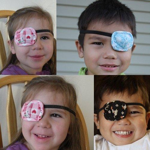 Altinway弱視眼罩『兩個裝』 戴在眼睛上 幫助調整弱視斜視 L301兒童弱視眼罩