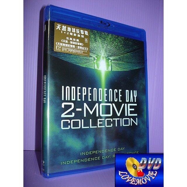 A區Blu-ray藍光 【ID4星際終結者 ID4星際重生 二集套裝】[含中文字幕] 未拆