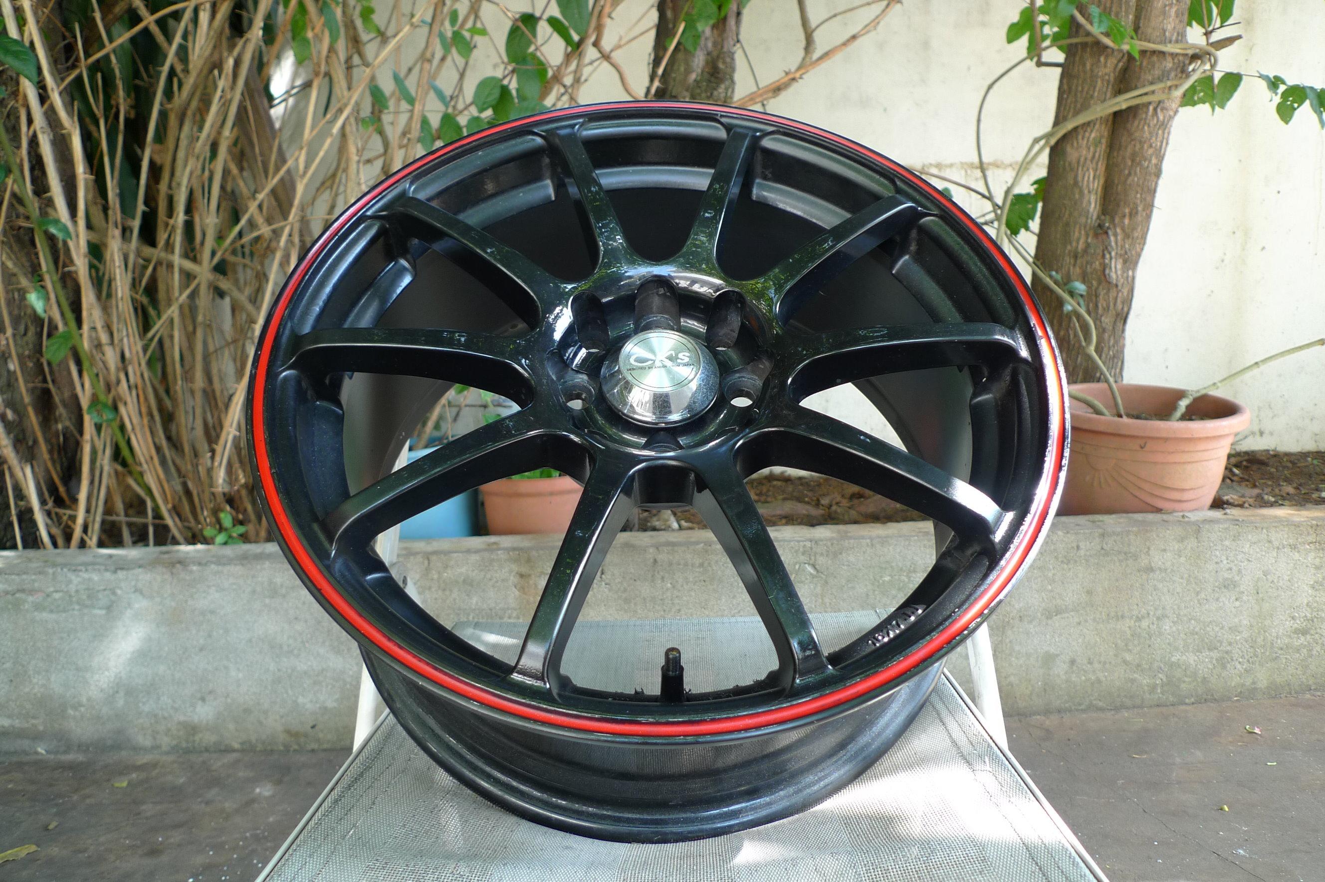 小李輪胎 16吋4孔100+114.3 中古鋁圈 有一顆  豐田 三菱 本田 鈴木 日產 福特 現代 馬自達