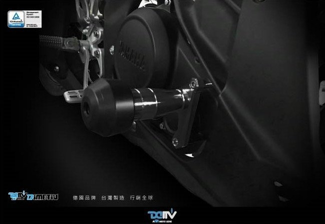 【R.S MOTO】YAMAHA M-SLAZ MT-150 MT-15 MT15 EASY款 車身防倒球 DMV