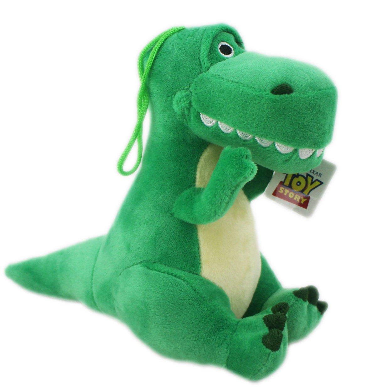 【卡漫迷】 抱抱龍 玩偶 20cm 絨毛 ㊣版 Toy Story 玩具總動員 Rex 裝飾擺飾 娃娃 布偶 恐龍 暴龍