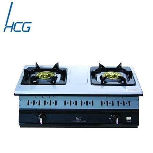 【 老王 網 】和成 GS252Q 嵌入式雙環瓦斯爐 不鏽鋼嵌入爐