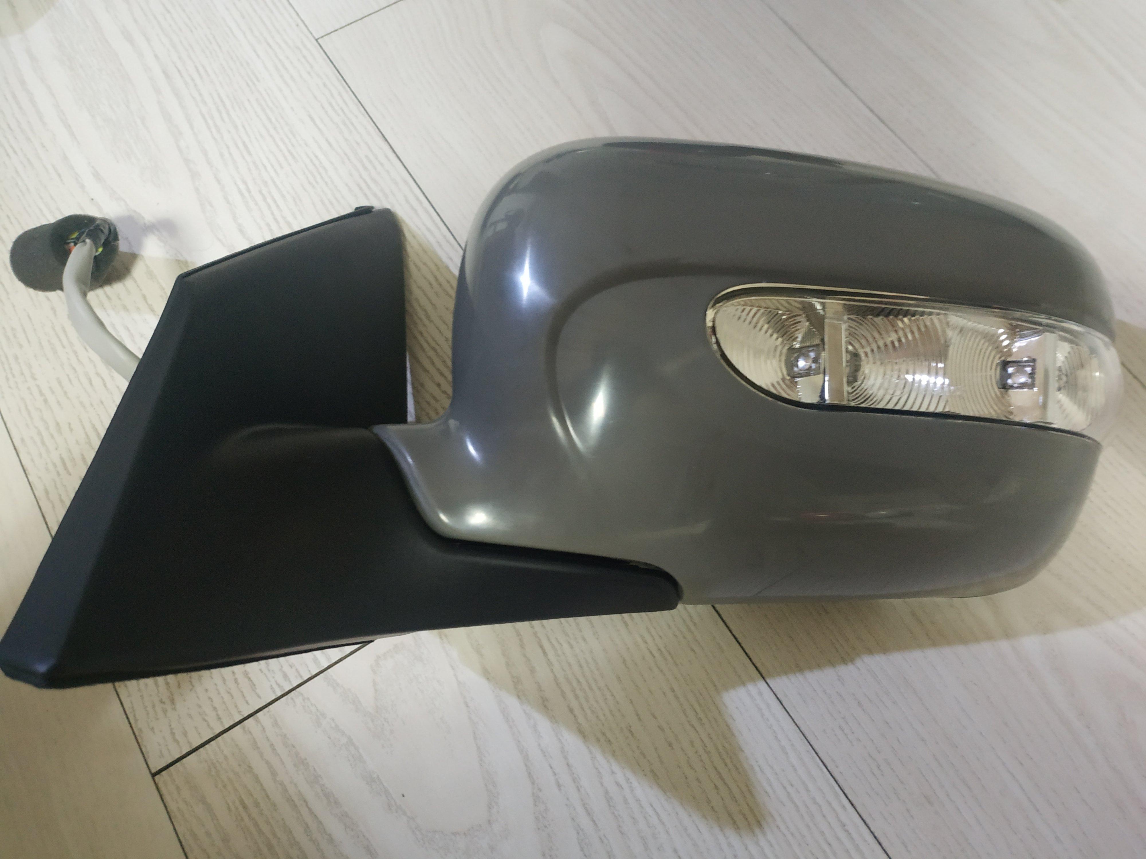 三菱 MITSUBISHI GRUNDER 08後 正廠 後視鏡  電動 電折 除霧 方向燈 9線 左邊
