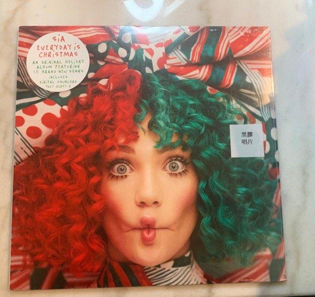 (全新未拆封)希雅 Sia - EVERYDAY is CHRISTMAS 天天聖誕 黑膠LP