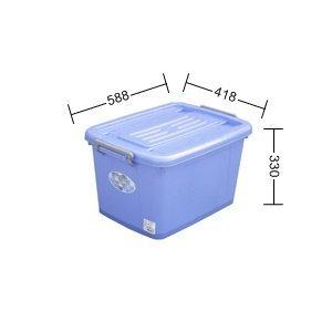 315 ~夏日好幫手~AK600銀采滑輪整理箱 *1入組  多用途收納箱 置物櫃 背心夾克濕紙巾衛生紙收納