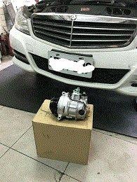 南至北 台北 桃園 BENZ W203 W211 W220 W204 DENSO全新冷氣壓縮機 含安裝 保固24個月
