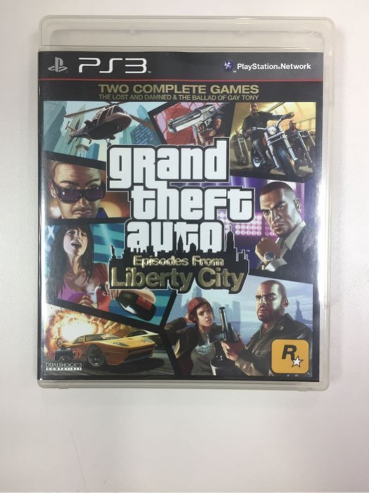 Grand theft auto Episodes From Liberty City 空盒