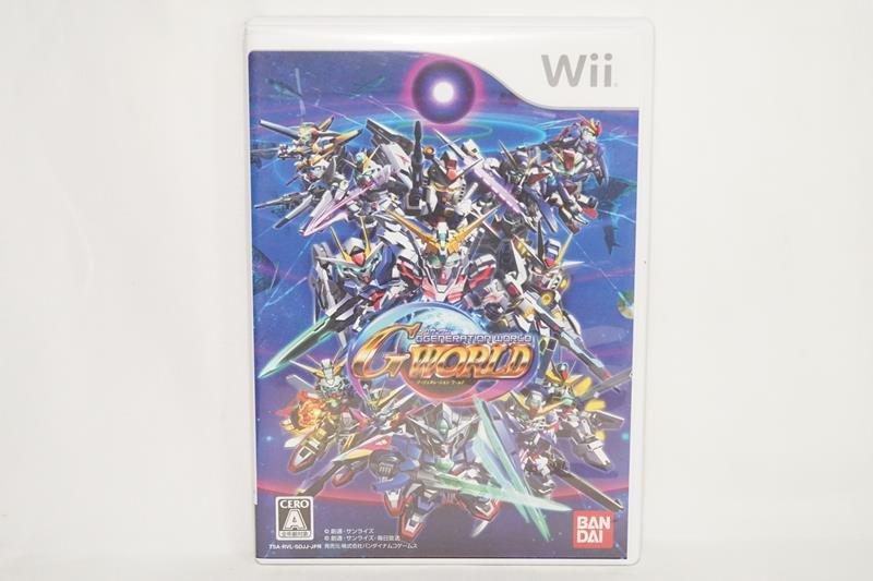 日版 Wii SD鋼彈 G世代 新世界