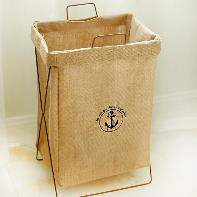 【瘋狂夏折扣】洗衣籃 手提髒衣服收納筐可折疊支架防水超大號髒衣籃髒衣簍玩具儲物箱