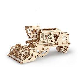 Ugears 自我推進模型 Combine 聯合收割機 收稻 穀物機 官方代理正品 DIY組裝自走 收藏 禮物
