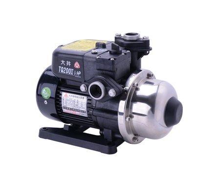 【 川大泵浦 】大井WARLUS TQ-200B*1/4HP電子穩壓加壓馬達 TQ200B 可合KQ200