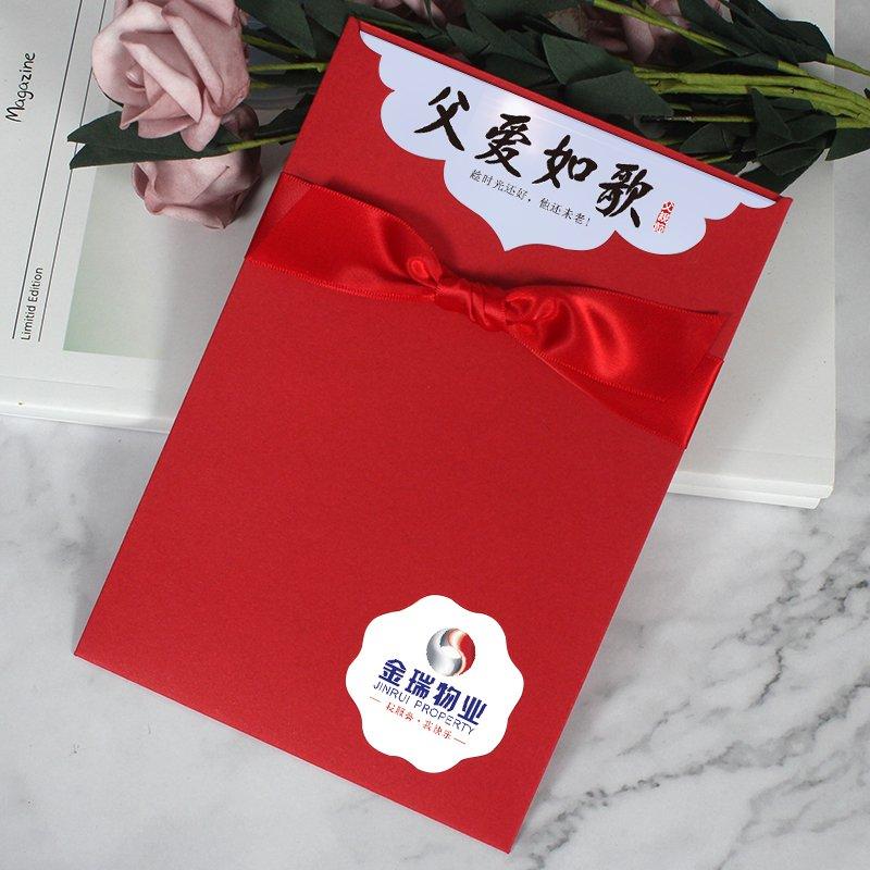 感恩母親節賀卡定制 高檔父親端午感謝卡 員工生日小卡片嘉義